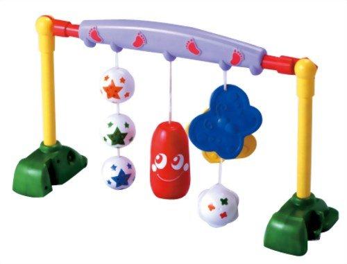 ノンキャラ良品シリーズ 新生児から遊べる ベビージムはこれだけ