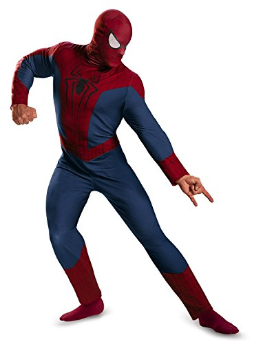 Fas Cosplay Men's The Amazing Spider-Man Movie 2 Spider-Man Classic Costume