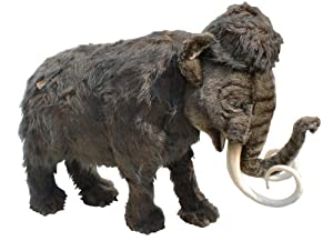 Hansa Plush Mammoth - Over 7 Ft Long, Almost 6 Ft Tall