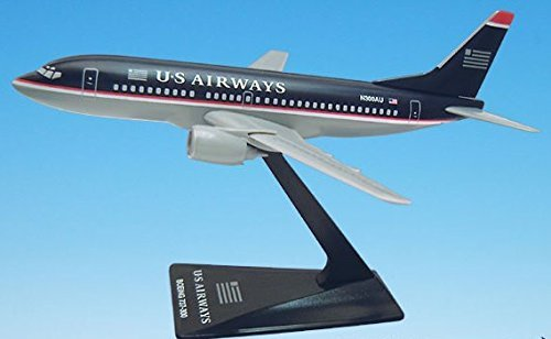 US Airways Airbus A320-200 Airplane Miniature 1:200 Scale Part#AAB-32020H-049 (Us Airways Plane compare prices)