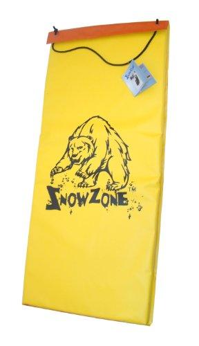 Snow-Zone-Luge-tapis-de-neige-Noirjaune-115-cm
