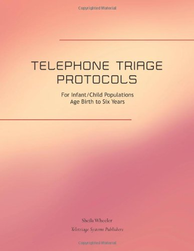Telephone Triage Protocols For Infant/Child Populations: Age Birth To Six Years