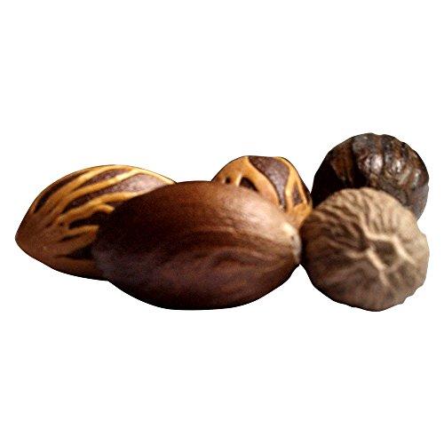 2Tre Organic Whole Jamaican Nutmeg, 2oz