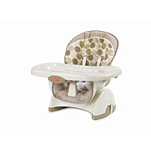 Fisher-Price Space Saver High Chair - Tan Circles