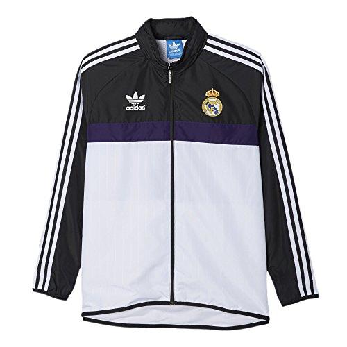 Adidas Men 2016 Windbreaker (X-Large, Real Madrid) (Adidas Vintage Jacket compare prices)