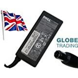 GENUINE Original DELL PA-21 PA21 65W AC Adapter Power Supply Charger with UK Mains Cable for DELL XPS M1330 INSPIRON 1318 15 1545 Laptops , Dell P/Ns : XK850 NX061. With Globe 1 year warranty