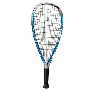 Head Liquidmetal Blast Racquetball Racquet- Blue/Silver (3 5/8)