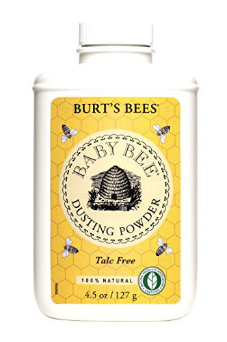 Burt's Bees Baby Bee Dusting Powder Talc Free, 4.5-Ounce, Pack of 3