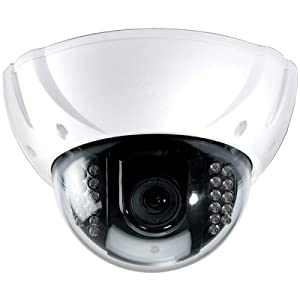 Speco Technologies High-Resolution Color Vandal-Proof Weather-Proof Dome Camera w/IR LEDs