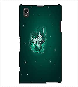 PrintDhaba Zodiac Pisces D-5518 Back Case Cover for SONY XPERIA Z1 (Multi-Coloured)