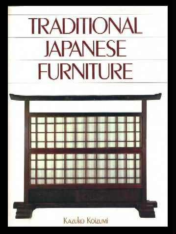 Traditional japanese furniture kazuko koizumi for Traditional japanese furniture