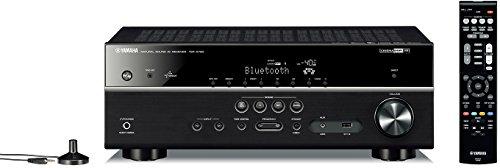 Yamaha TSR-5790BL 7.2-Channel AV Receiver w/4K Ultra HD and Bluetooth (Certified Refurbished)