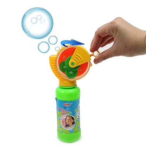 Dazzling Toys Squeeze and Blow Bubble Game, Includes 8 Oz Bubble Solution - 1