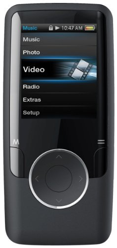 Coby 1.4-Inch Video MP3 Player with FM, 2 GB Flash Memory MP601-2GBLK (Black)