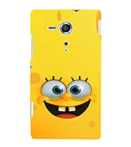 EPICCASE Minion Yellow Mobile Back Case Cover For Sony Xperia SP (Designer Case)