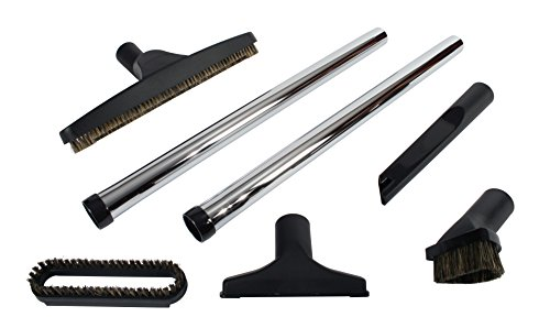 Cen-Tec Systems 91420 7 Piece Deluxe Vacuum Accessory Kit with Metal Wands