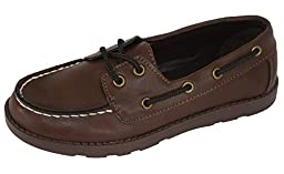 Toddler Boys\' Finnegan Boat Shoes Brown, 4