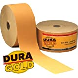 "DURA-GOLD 400 Grit 2-3/4"" PSA Roll Longboard Sandpaper"