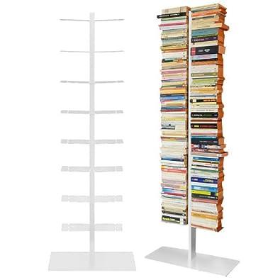 radius booksbaum regal weiss mit stand gross us100. Black Bedroom Furniture Sets. Home Design Ideas