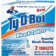 Ty-D-Bol Bowl Bleach Tab Automatic Toilet Bowl Cleaner-BLEACH TAB BOWL CLEANER