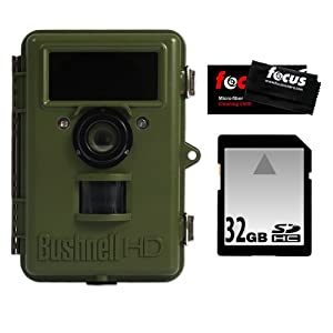 Bushnell NatureView Cam 119440 HD Max Trail Camera with Color LCD with 32GB Digital... by Bushnell