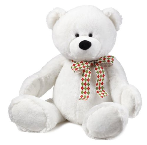 41i40Gbv 4L Buy  Snowdrop White Teddy Bear   Large Size 22