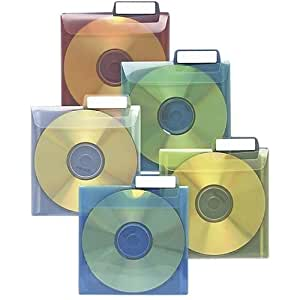 CD Saver Protective Sleeves, 25/PK, Clear