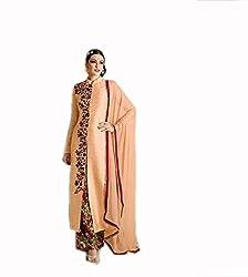 Kashmira's bhagalpuri silk party wear embroidered suit