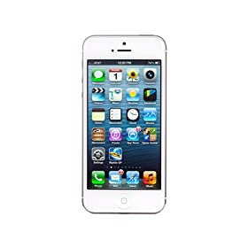 Apple iPhone 5 (White, 16GB) Apple iPhone 5 (White, 16GB) available at Amazon for Rs.38500