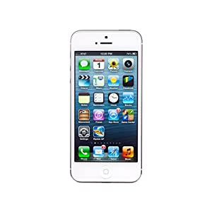 Apple iPhone 5 (White Silver, 32GB) available at Amazon for Rs.33000