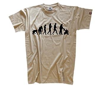 Standard Edition Vater Evolution T-Shirt S-XXL Beige S