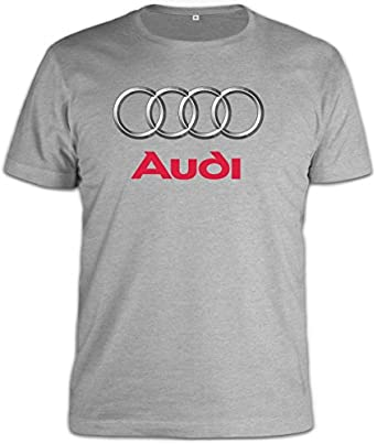 audi logo t shirt xx large v tements et accessoires. Black Bedroom Furniture Sets. Home Design Ideas