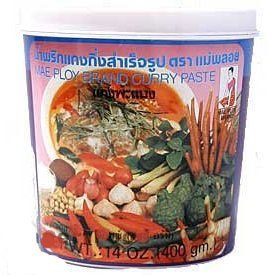 Mae Ploy Thai Panang Curry Paste - 14 oz jar from Mae Ploy