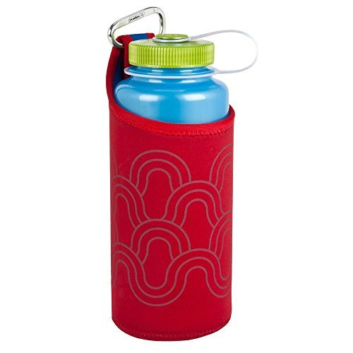 Nalgene Insulated Neoprene 32 oz Bottle Sleeve - Red (Nalgene Water Bottle Sleeve compare prices)