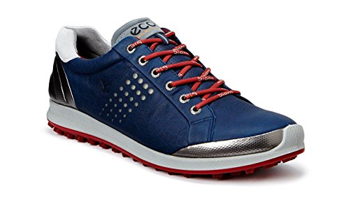 ECCO Mens Biom Hybrid 2 Navy Golf Shoes 151514/59094