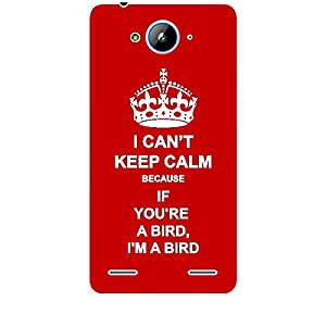 Skin4gadgets I CAN'T KEEP CALM BECAUSE If You're A Bird, I'm A Bird - Colour - Red Phone Skin for ZTE V5