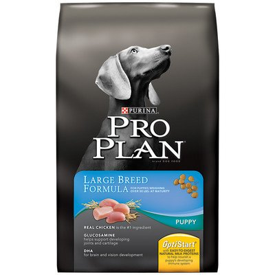 Puppy Large Breed Dry Dog Food Size: 18-Lb Bag