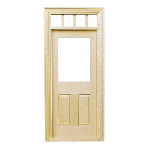 Dollhouse Miniature Traditional Door (Dollhouse Doors And Windows compare prices)