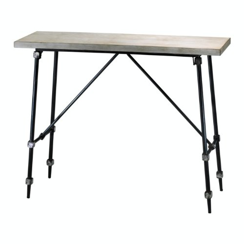 Cheap Cyan Lighting 02445 Doris Console Table, Ivory and Black Finish (B005LS3L6G)