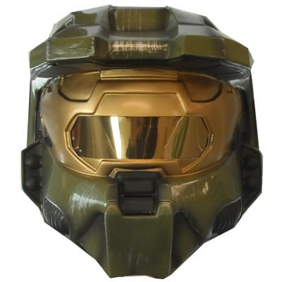 Master Chief 2 Piece Mask Costume Accessory