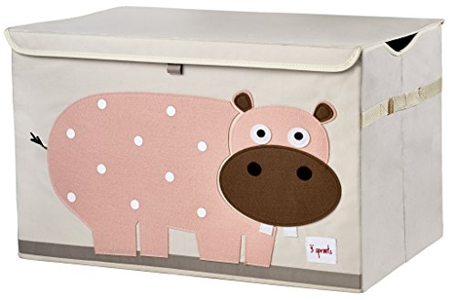 Buy 3 Sprouts Toy Chest, Hippo, Pink