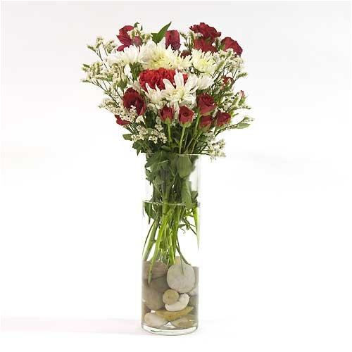"""Glass Cylinder Vase 10.5"""""""