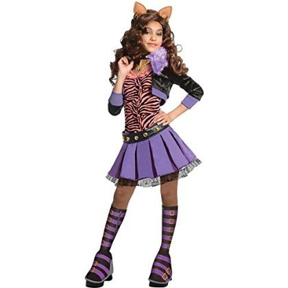 Deluxe Clawdeen Wolf Costume - Small