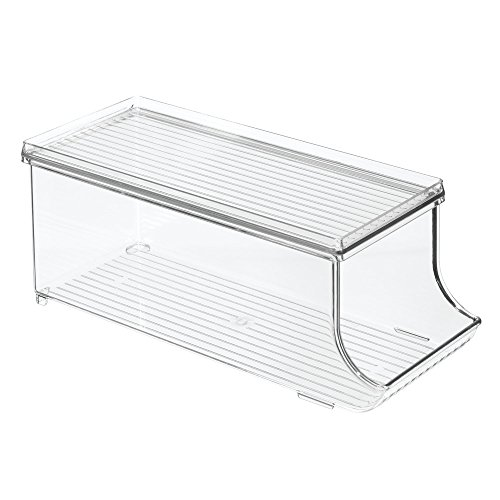 InterDesign Soda Can Holder for Refrigerator, Kitchen Cabinet, Pantry - Clear (Soda Can Holder Storage compare prices)