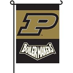 Buy NCAA Purdue Boilermakers 2-Sided Garden Flag by BSI