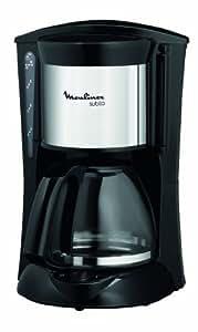 Moulinex FG110510 Cafetière Filtre Subito Noir Inox