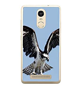 Prowling Eagle 2D Hard Polycarbonate Designer Back Case Cover for Xiaomi Redmi Note 3 :: Xiaomi Redmi Note 3 Pro :: Xiaomi Redmi Note 3 MediaTek