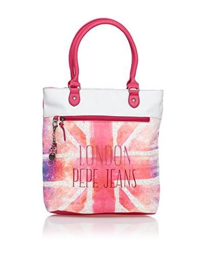 Pepe Jeans Shopper  Rosa/Bianco