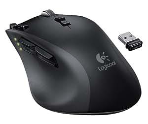 LOGICOOL ワイヤレスレーザーマウス 充電式 高性能レーザーセンサー G700