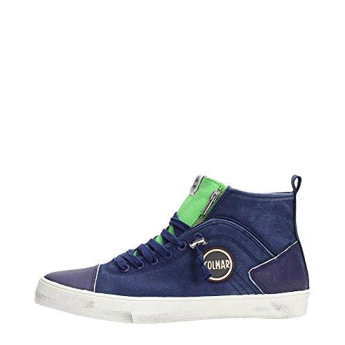 Scarpe sneaker uomo/donna Colmar Originals mod. MU Durden Colore 007 - Navy Green Taglia 43